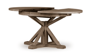 Callum Round Extension Table - Two Sizes & Three Finishes Dining Table
