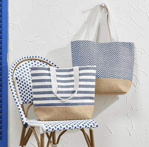 Sagamore Lined Tote - Two Patterns Bag