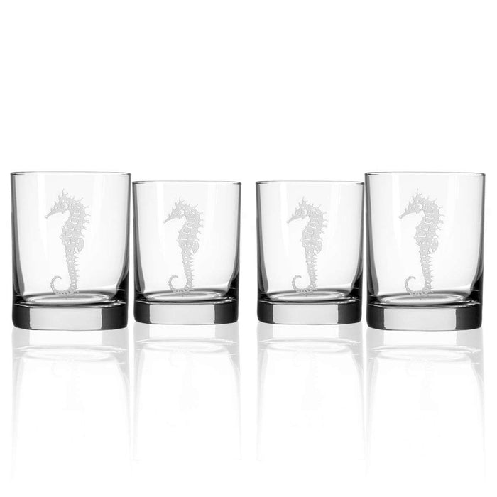 Seahorse Glasses (Set of 4)
