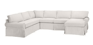 "Nantucket II 103"" x 133"" Slipcovered Sectional - 1 Slipcovered Sectional"
