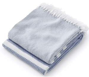 Allgash Cotton Throw (3 colorways) Throw Shore/Denim/Baja Blue