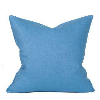 Compliment Linen Pillow (Cornflower)
