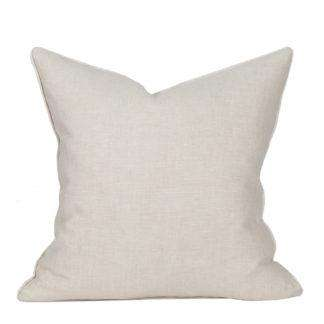 Compliment Linen Pillow (Flax)
