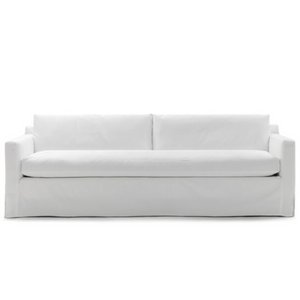 South Beach Slipcovered Sofa - Two Sizes Slipcovered Sofa