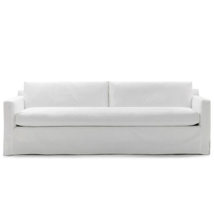 South Beach Slipcovered Sofa - Two Sizes