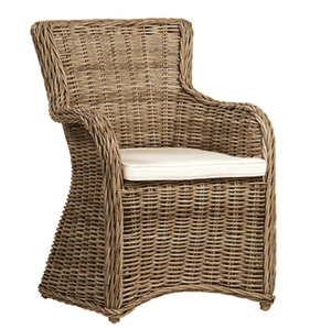 St. George Kubu Rattan Dining Arm Chair Dining Chair