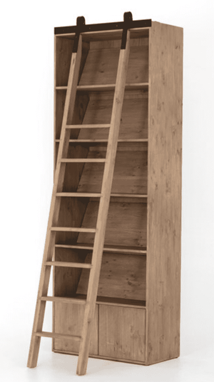 "Watersound 36"" Tall Bookshelf w/Ladder Shelf"