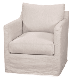 "Westchester Slipcovered 29.5"" Arm Chair Slipcovered Chair"