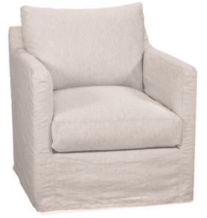 "Westchester Slipcovered 31.5"" XL Arm Chair Slipcovered Chair"
