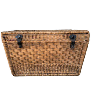 Wicker Basket Trunk w/ Hardware