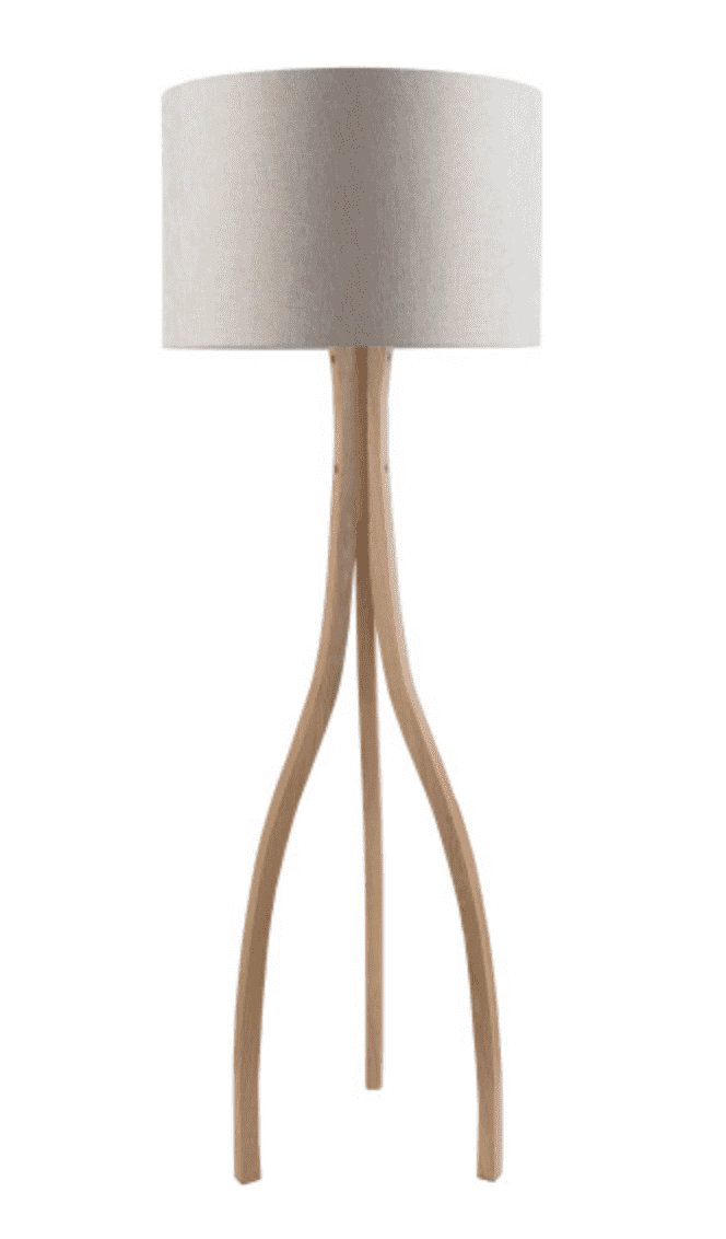 Winfield Natural Wood Floor Lamp