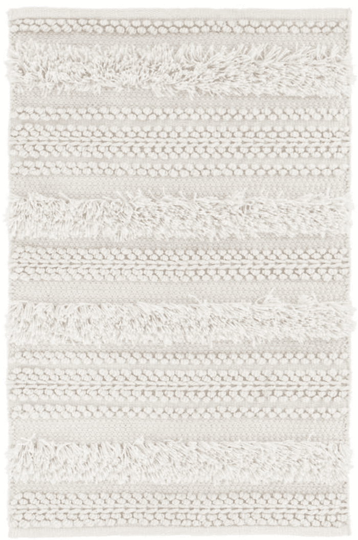 Zhara Striped Ivory Indoor/Outdoor Rug