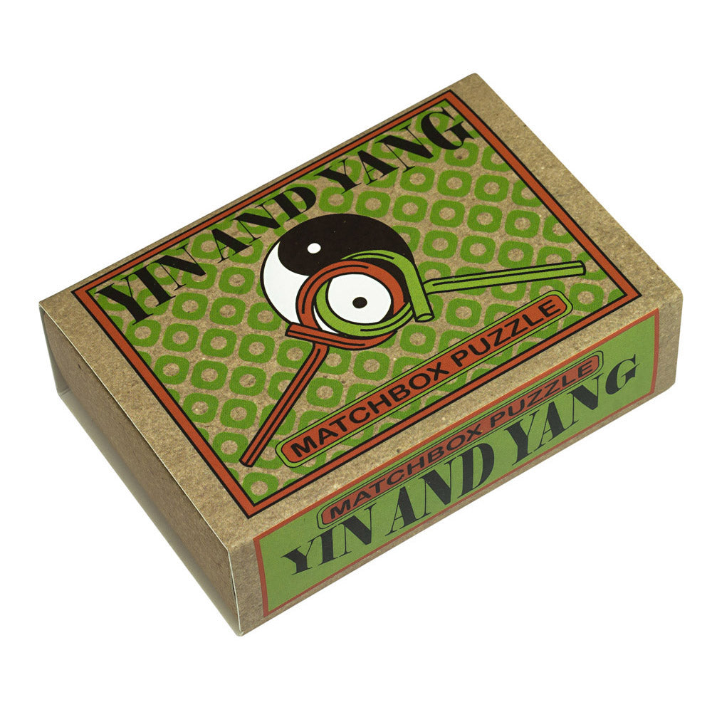 "Breinbreker Matchbox Puzzle ""Yin and Yang"""