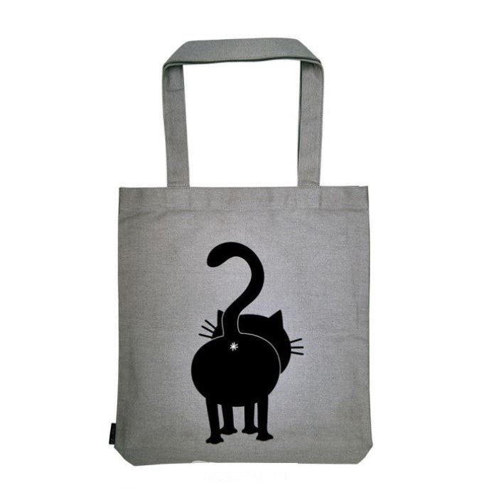 Ed, the cat katoenen tas groot Like me 39x42 cm