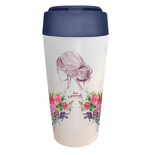 "BioLoco Plant Deluxe Cup ""Love Yourself"""