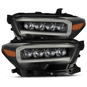 BLACK NOVA-Series LED Headlights, Toyota Tacoma (2016-2020)