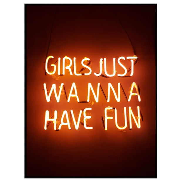 Girls just wanna have fun - Noname