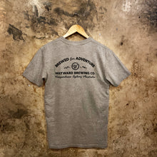 Load image into Gallery viewer, BREWED FOR ADVENTURE (CLASSIC) GREY T-SHIRT