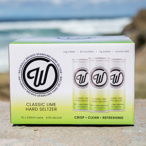 W SELTZER CASE - CLASSIC LIME