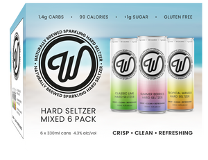 W SELTZER - MIXED 6 PACK