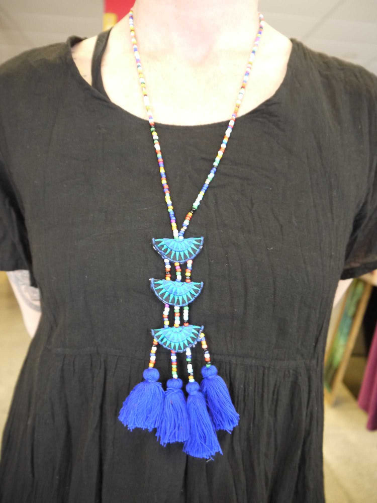 Hill Tribe Bead Necklace-Himalayan Trading Post Ltd