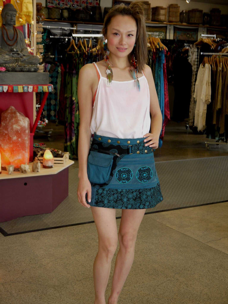 Mini Pocket Skirt-Himalayan Trading Post Ltd