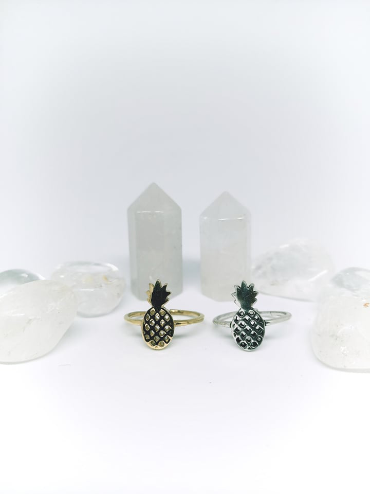 Pineapple Power Ring