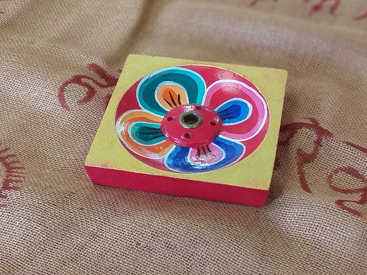Tibetan Incense Holder Petal-Himalayan Trading Post Ltd