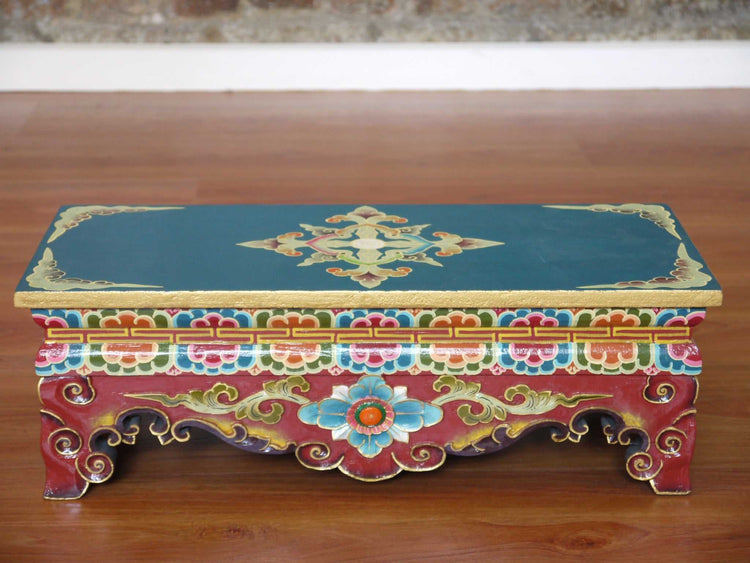 Tibetan Hand Craved Altar Table