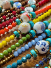 Ceramic Bead Anklet-Himalayan Trading Post Ltd
