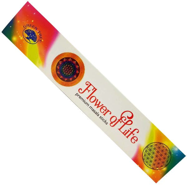Green Tree Flower of Life Incense