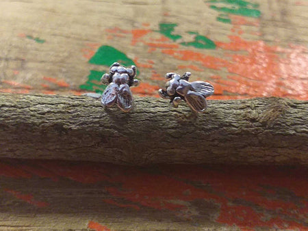Sterling Fly Studs