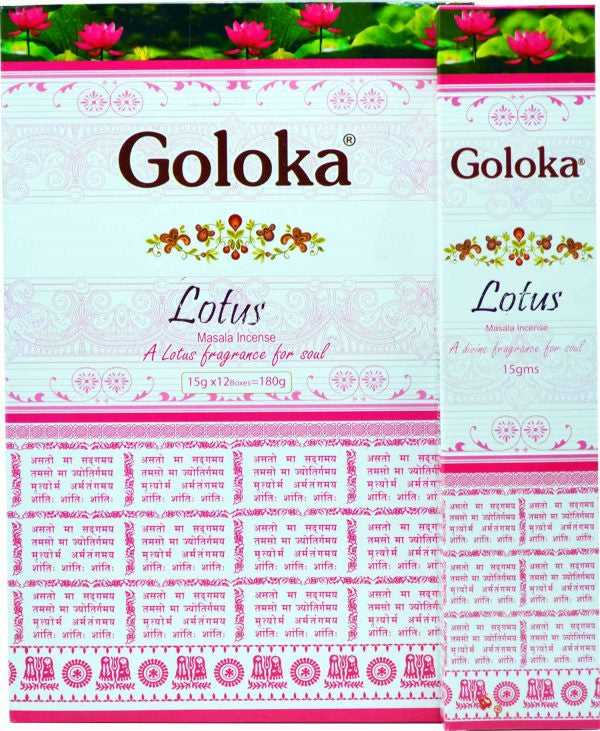 Goloka Lotus Incense 15g