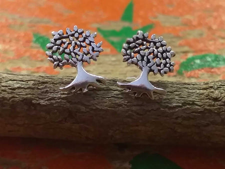 Sterling Tree Studs