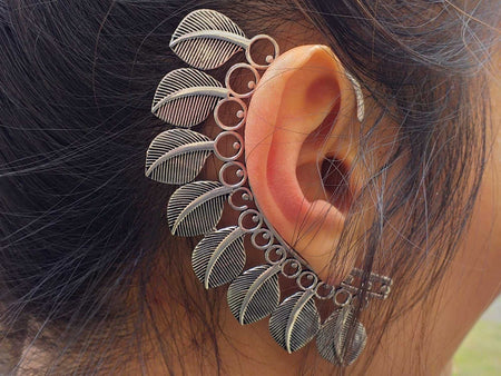 Feathers Ear Cuffs