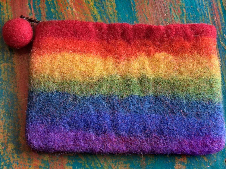 Felted Purse-Himalayan Trading Post Ltd