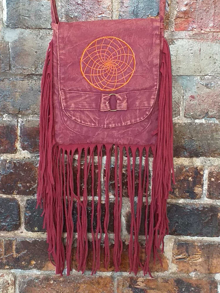 Geo Fringe Bag-Himalayan Trading Post Ltd