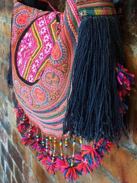 Hill Tribe Circle Bag