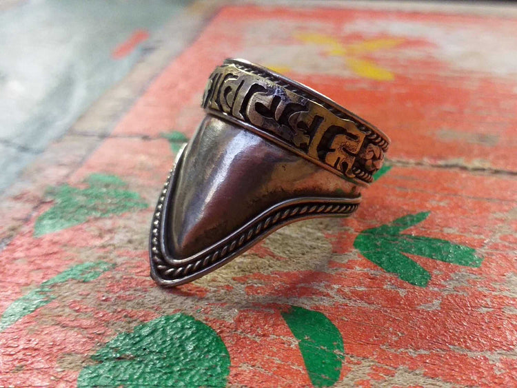 Shield Mantra Ring