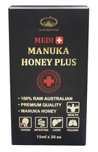 Load image into Gallery viewer, Medi Manuka Honey PLUS - Mastic (15ml x 30ea)