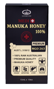 Medi Manuka Honey MGO 263+ Premium (15ml x 10ea)