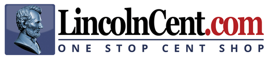 lincolncent.com home page logo. buy lincoln cents and other coins