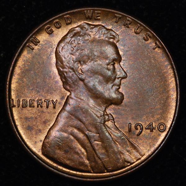 1940-P Lincoln Wheat cent - Ch UNC
