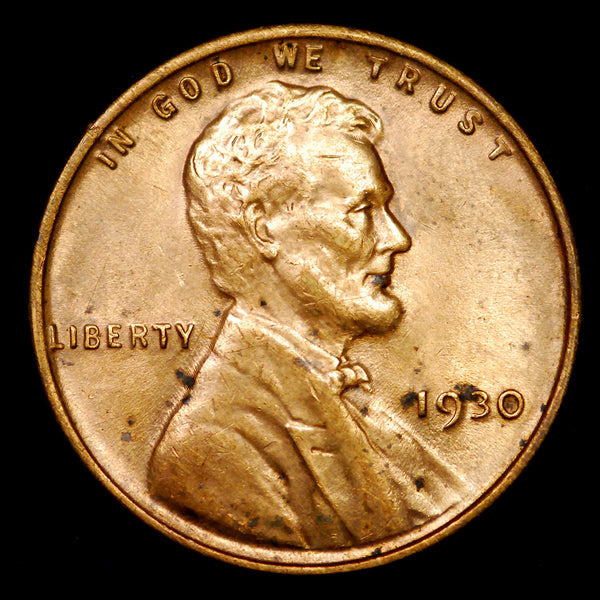 1930-P Lincoln Wheat cent - Unc details