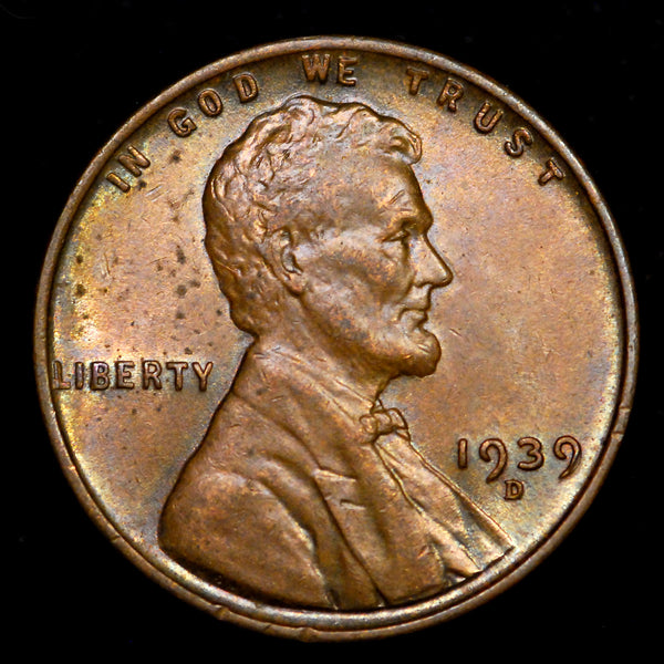 1939-D Lincoln Wheat cent - Ch Unc