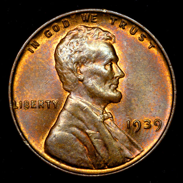 1939-P Lincoln Wheat cent - CH UNC