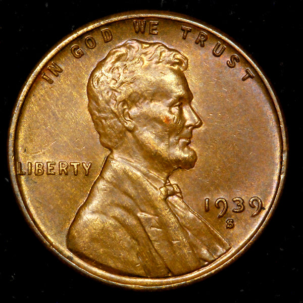 1939-S Lincoln Wheat cent - CH UNC
