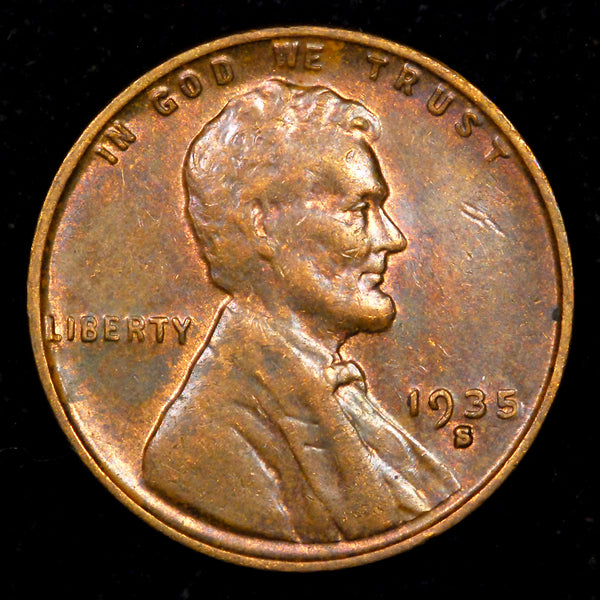 1935-S Lincoln Wheat cent - Ch Unc