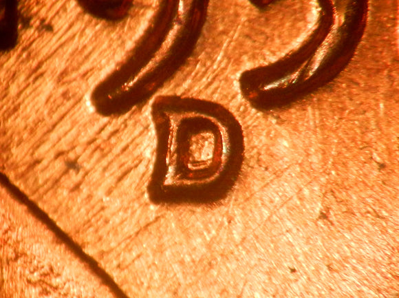 1958-D 1MM-009 Lincoln cent RPM - GEM BU