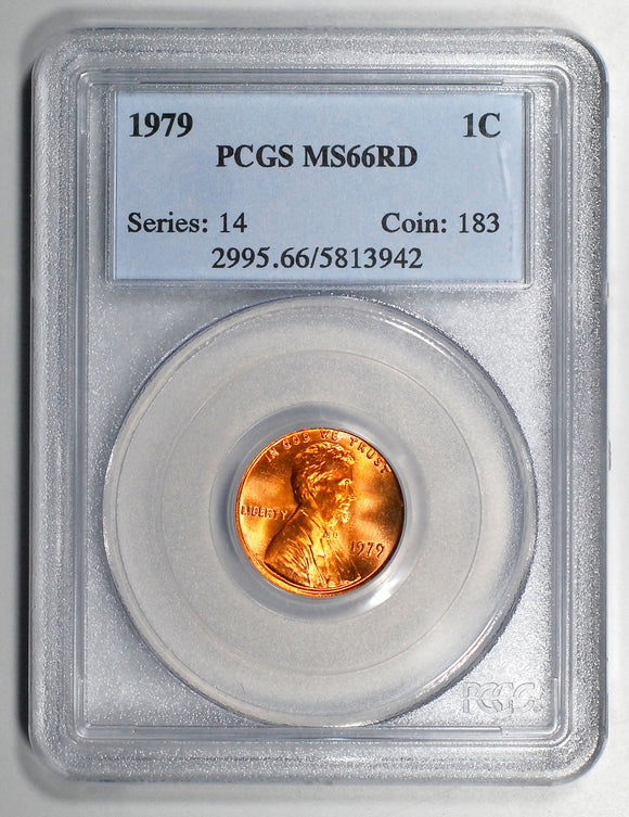1979-P Lincoln Cent - PCGS MS66RD